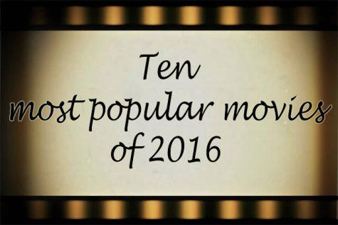 Ten most popular movies of 2016