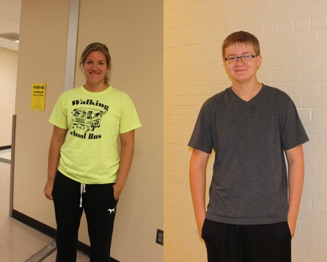 Students of the Week – Kalyn Blessing & Conor Miller