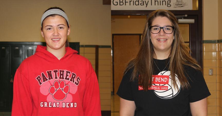 Students of the Week - Carley Brack & Danielle Jordan