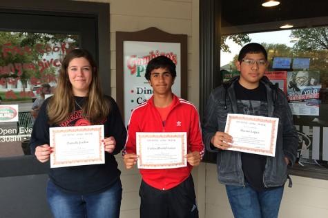 September Students of the Week Treated to Gambino's