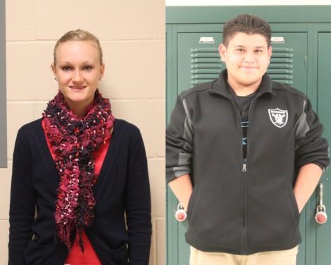 Students of the Week – Olivia Blackwell & Daniel Castro