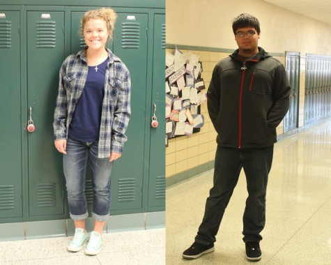 Students of the Week – Taylor Vratil & Gino Chanagua