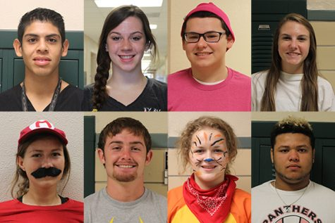 Get to know the 2016 Homecoming Candidates
