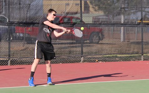 The start of the season for the boys tennis team