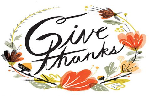 Thankfulness from the GBHS Panther Tales staff