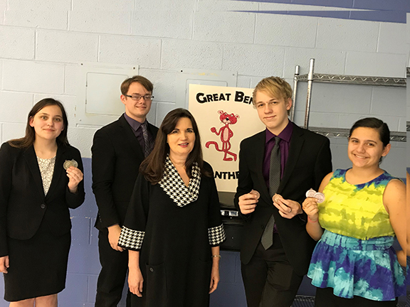 GBHS Speech Places Fourth at Kinsley Tournament