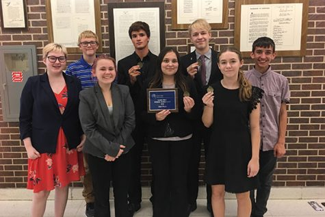 GBHS Debaters Win Both Divisions at Lyons Bring home 2nd place in Sweepstakes