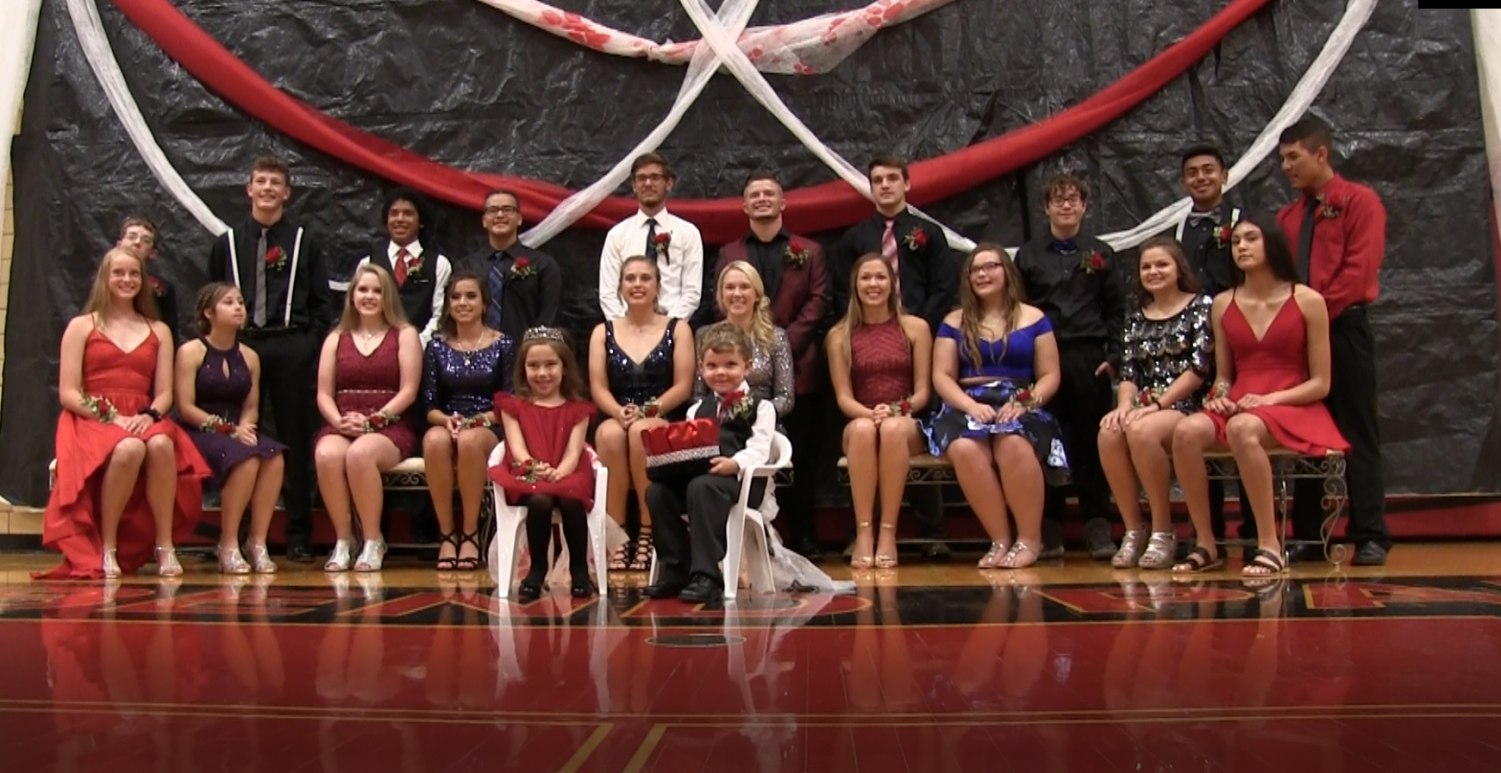 2019 Fall Homecoming Court