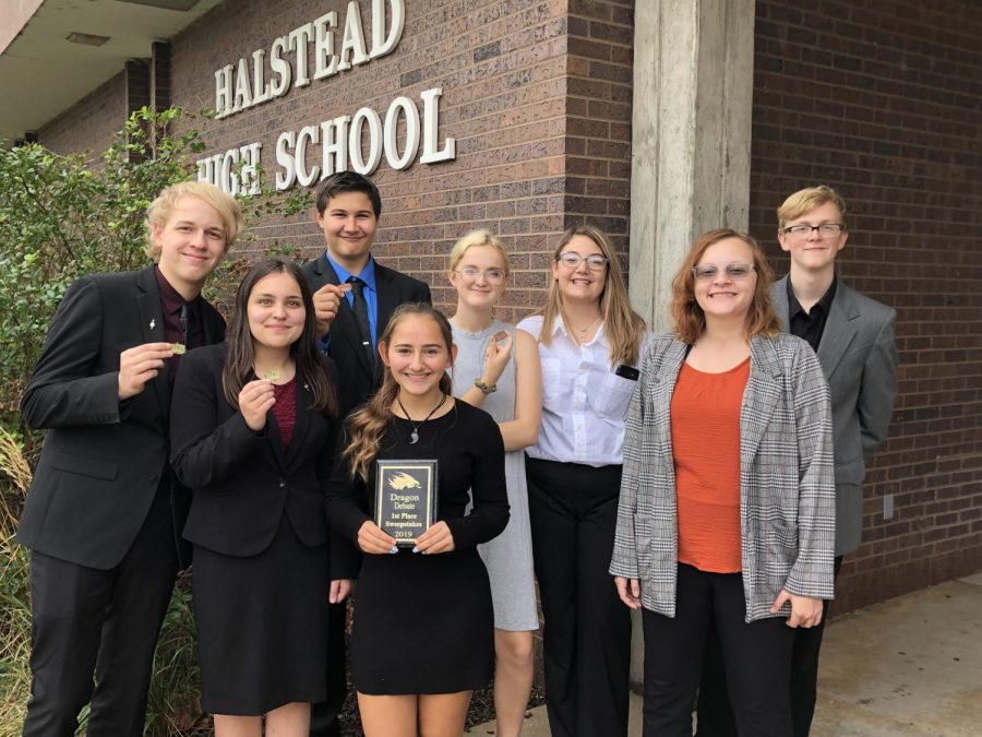 GBHS+Debate+Squad+brings+home+1st+Place+Trophy