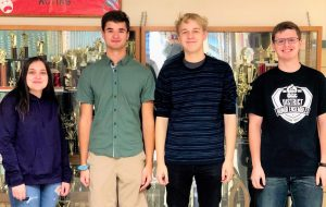 Four GBHS Students Named Semi-finalists in WSU Scholarship Competition