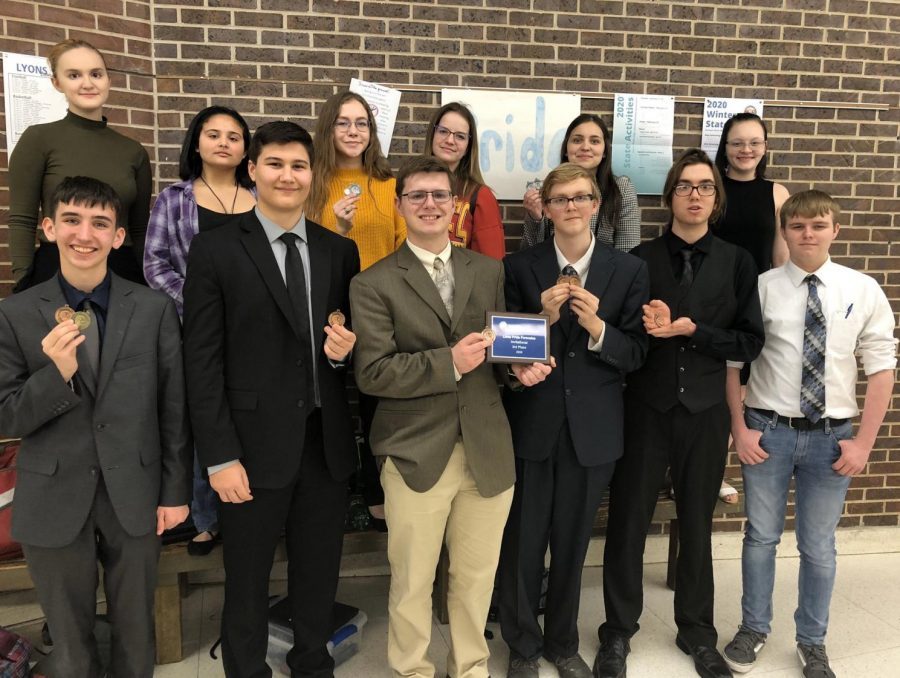 Panthers Place Third at Lyons Forensics Tournament
