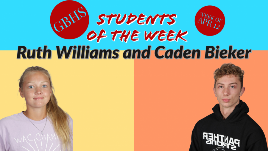 Students Of The Week:April 12th-16th