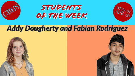 Students of The Week: April 26-30th