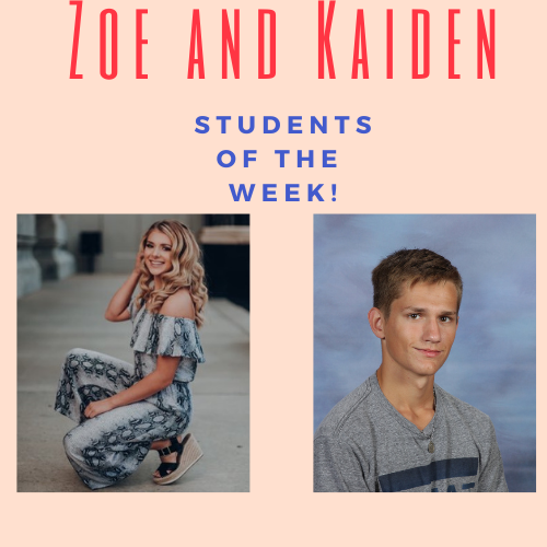 Students of The Week: May 10th-14th