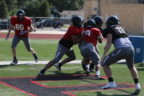 Great Bend Panthers compete in a Jamboree