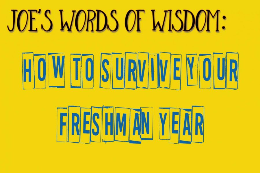 Joes Words of Wisdom:  How to survive for Freshmen.